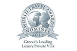 Zante Luxury Villa Awards 2015