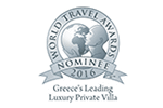Zante Luxury Villa Awards 2016